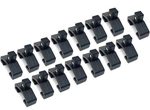 MLTOOLS Socket Organizer | Ball Bearing Socket Organizer Clips | Fits T-8316 Socket Organizer Series (1/4