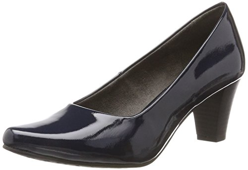 Tamaris 22423, Escarpins Femme Bleu (Night Blue Pat)