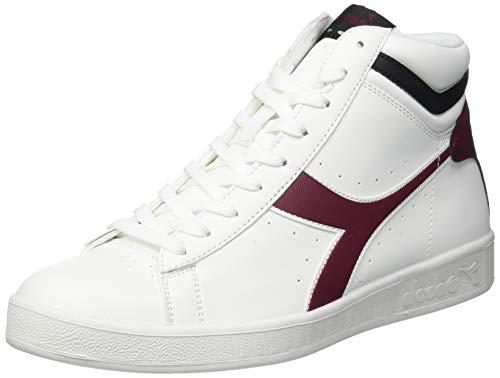 Diadora Game P High, Sneaker a Collo Alto Unisex – Adulto Multicolore (Cordovan/Raven C7609)