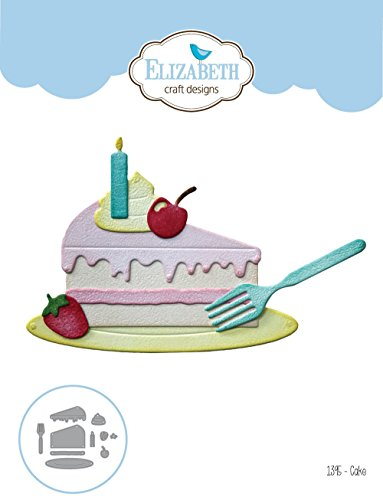 Elizabeth Craft Designs 1395 Elizabeth Craft Metal Die-Cake