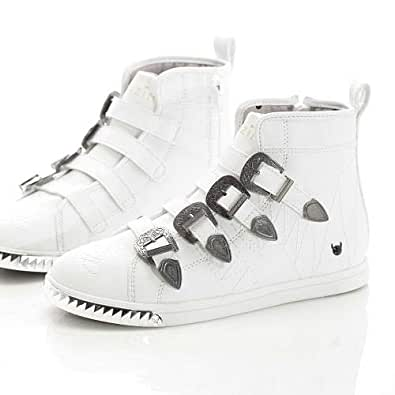 KRUZIN White Fashion Sneakers For Women
