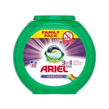 Amazon Com Ariel Natural Soap Liquid Capsules Detergent 3