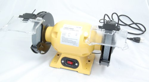 Pit Bull CHIG1750B 6'' 0.5 hp Bench Grinder by Pit Bull (Image #1)