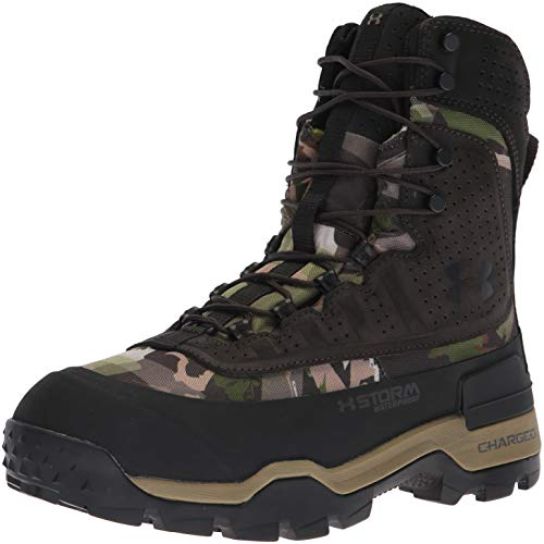 Under Armour Men's Brow Tine 2.0-800G Ankle Boot, Ridge Reaper Camo Fo (900)/Cannon, 12 M US - Boot 800g