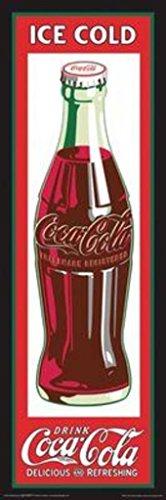 Studio B Coca Cola Bottle Retro Art Poster 12x36 inch