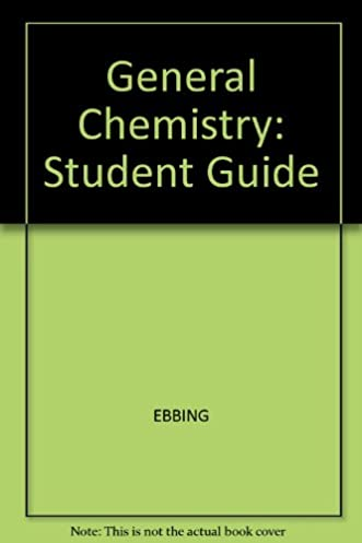general chemistry study guide 7th edition darrell d ebbing larry rh amazon com general chemistry study guide acs general chemistry study guide chesapeake public schools