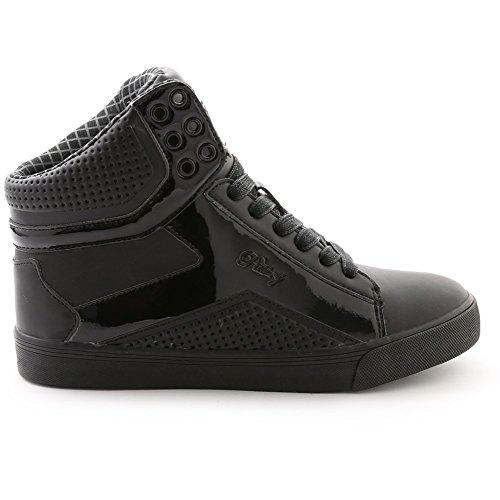 Tart schwarz Pop Gebäck Erwachsene Sneakers 6 Dance Größe Schwarz Gitter qanSwZxA