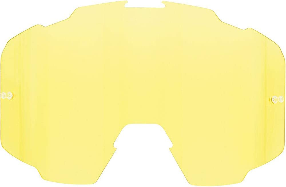 FXR Maverick Goggle Single Replacement Lens 2020 One Size Yellow