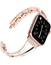 Surace Compatible for Apple Watch Bands 38mm 40mm Women Bracelet for iWatch Bands 38mm Womens