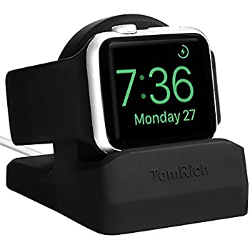 tomrich t90 apple watch stand for apple watch charger with night stand mode for apple watch