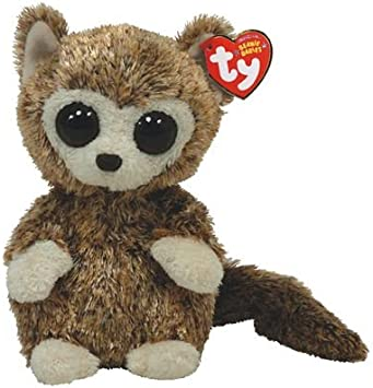 Ty 40795 Peluche - Beanie Babies - Lemur Peepers: Amazon.es: Juguetes y juegos