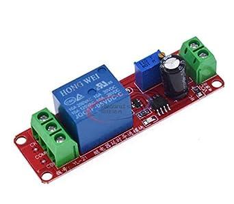 5pcs NE555 Oscillator 12V Delay Timer Switch Adjustable delay 0 to 10 Second