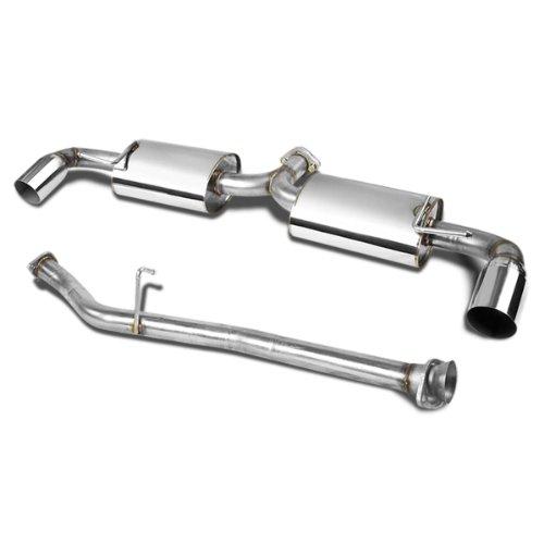 DNA Motoring CBE-MRX8 CBEMRX8 Stainless Steel Catback Exhaust System