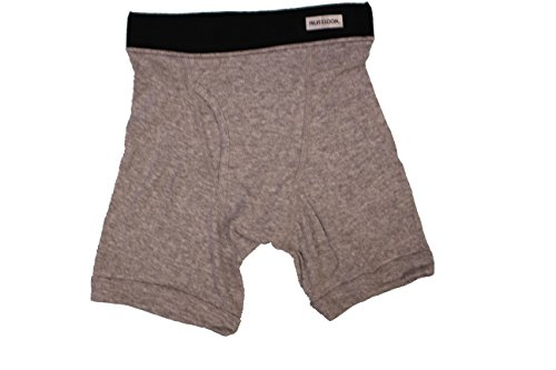 Fruit of the Loom Toddler Boys' Boxer Brief (Pack of 5) (Small(6-8), Gray)