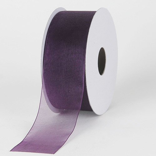 BBCrafts 1-1/2 inch x 100 Yards Sheer Organza Ribbon Decoration Wedding Party - Organza Wholesale Ribbon