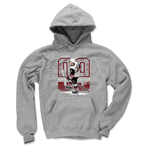 - 500 LEVEL Clayton Keller Arizona Coyotes Hoodie Sweatshirt (Medium, Gray) - Clayton Keller Future R WHT