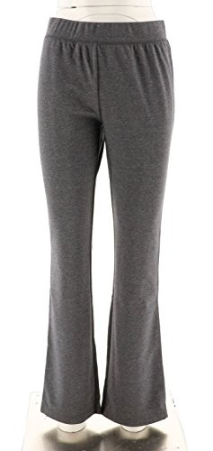 Isaac Mizrahi SOHO Bootcut Double Knit Pants A267502, Suit Grey, (Bootcut Double Knit)
