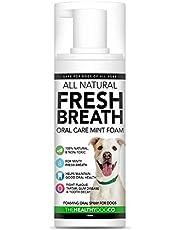 Refrescante Bucal 100% Natural y Aditivo de Agua Para Perros   Higiene Oral y Cuidado Oral Para Combatir el Mal Aliento, el Sarro y la Placa   Más Fácil de Usar Que la Pasta de Dientes Para Perros