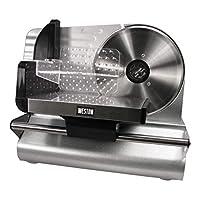 Rebanadora de alimentos de acero inoxidable de 7.5 pulgadas Weston (83-0750-W)