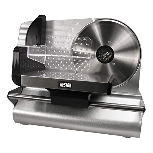 Weston 7.5-Inch Stainless Steel Food Slicer ()