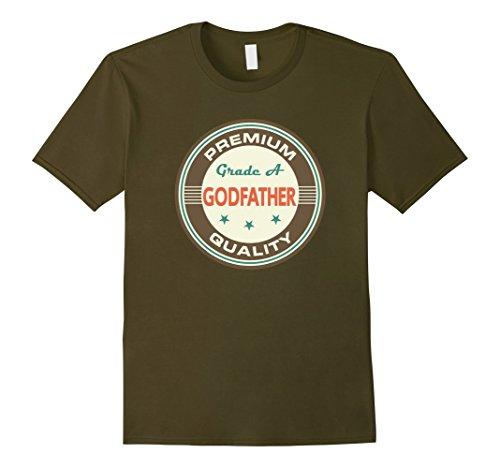 Godfather Gift Idea For Men Vintage Godparents Shirt - Ma...