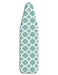 Whitmor Ironing Board Cover & Pad, Concord Turquoise
