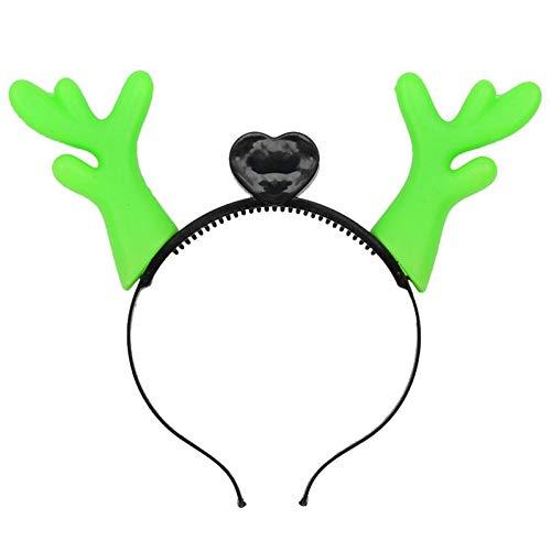 LED Antler Headband Christmas New Year Gift Decoration