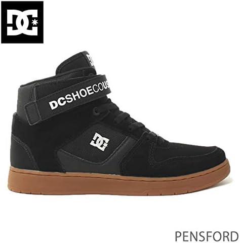 DC SHOE(ディーシーシュー) DC ハイカット スニーカー PENSFORD/BGM BLACK-GUM ディーシーシュー DM196024 スケボーシューズ 靴 DC shoes【C1】