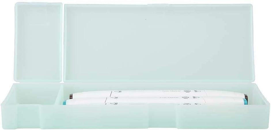KEYREN Papelería Caja Estuche de lápices Almacenamiento Escolar Gran plástico Transparente Estudiante(Verde): Amazon.es: Hogar