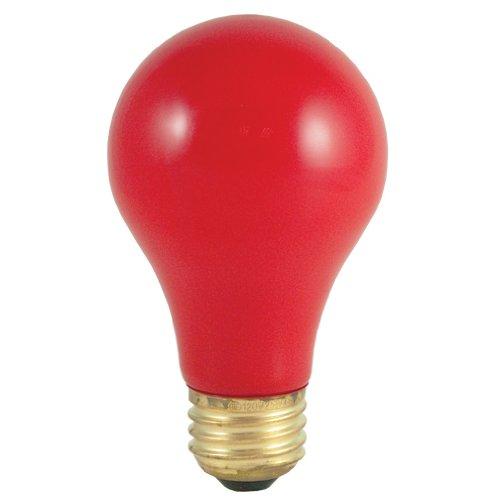 Bulbrite 106760 60W Ceramic Red A19 Bulb -
