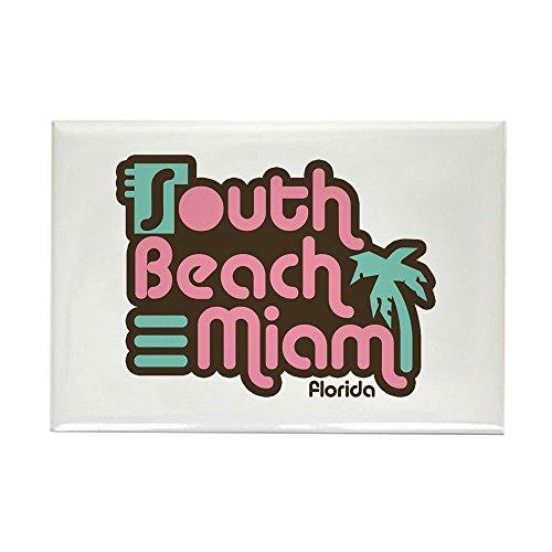 CafePress South Beach Miami Florida Rectangle Magnet Rectangle Magnet, 2
