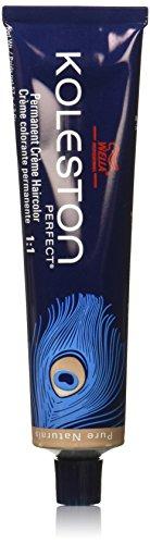 Wella Koleston Perfect Permanent Creme Hair Color, 33/0 Intense Dark Brown/Natural, 2 Ounce