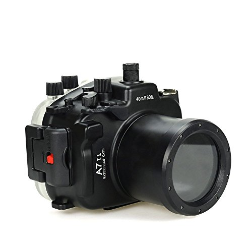 (Sea frogs 130FT/40M Underwater Camera Diving Waterproof housing case for Sony A7II A7R II A7S II [ILCE-7M2/7RM2/7SM2])