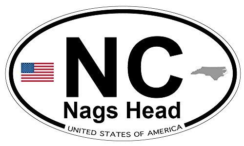 Nags Head, North Carolina Oval - Heads Nags