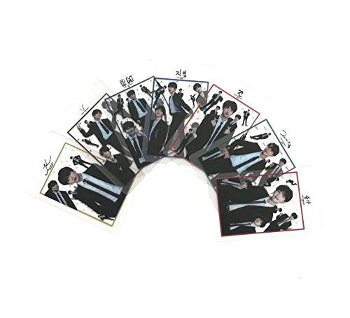 BTS BANTAN BOYS Transparent Photo Cards Ins Photocards, Gifts for ARMY Daughter (BTS 95pcs) by KPOP (Image #2)