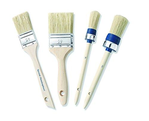 Color Expert 82661410 Lot Promo Complet de 4 Brosses Spé cial Acrylique