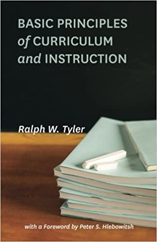 Basic Principles Of Curriculum And Instruction Ralph W Tyler