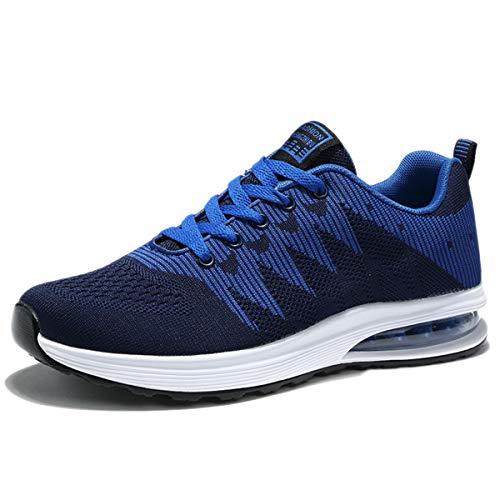 Snfgoij Tissées Course Battant Respirant De En Blue Absorbant Marche Chaussures Baskets Étudiants Unisexe Été Remise Occasionnels Forme rgxrfR
