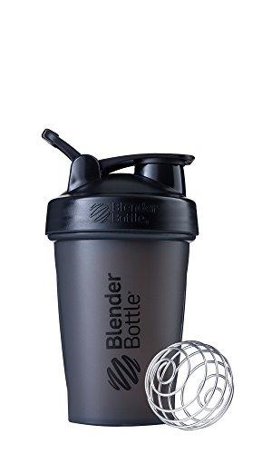 black 20oz blender bottle - 1
