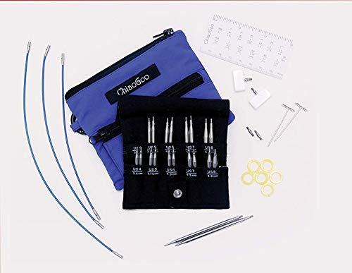 ChiaoGoo Twist Shorties (US-4 Thru US-8) Interchangeable Knitting Set (S) Join Tips