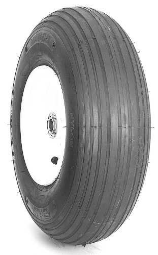 Nanco Wheelbarrow Rib Bias Tire - 480/400R8 by Nanco