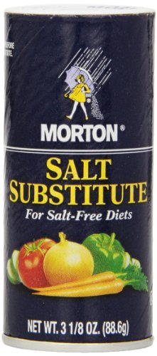 Morton Salt Substitute for Salt-Free Diets, 3.125-Ounce Shakers (Pack of 12) by Morton Salt