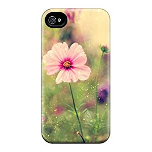 Snap-on Case Designed For Iphone 4/4s- Pretty Little Flowers by Maris's Diary