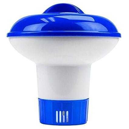 lzndeal Diffuseur Flottant Grand Bleu Distributeur de Chlore Piscine  Flottant pour Piscines Accessoires Spas c7b9e2a93ad6