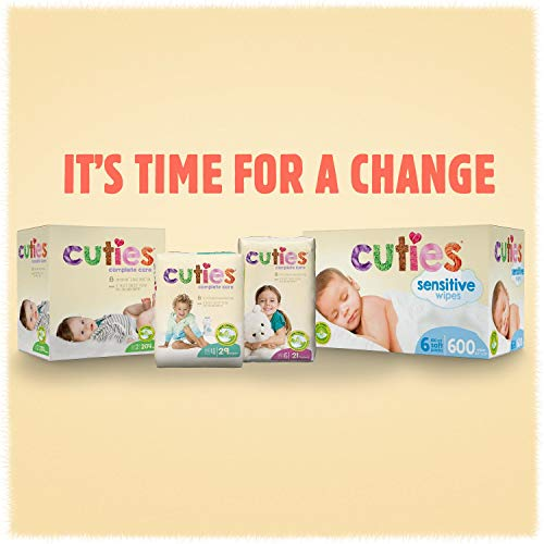 Cuties Complete Care Baby Diapers, Size Newborn, 160 Count