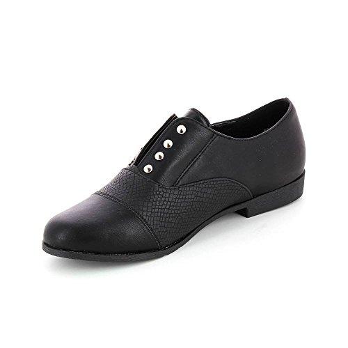 Go Tendance Women's Ballet Flats Black yncaAC8