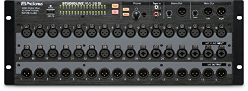 Presonus RML32AI 32-Channel, Touch Software Controlled, Rack-Mount Digital Mixer