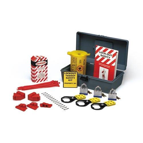 Brady LKX, 45618 Economy Lockout Kit with Toolbox, 2 Kits