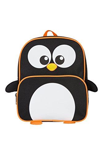 Mountain Warehouse 025622 Kids Character Bag - Penguin Negro Talla única Negro