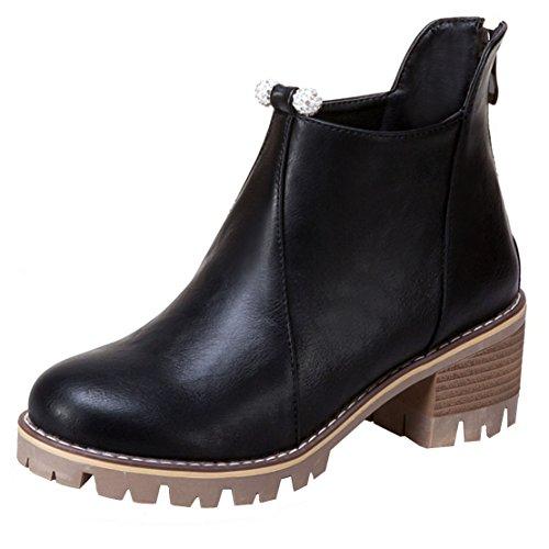 AIYOUMEI WoMen Classic Boot Black